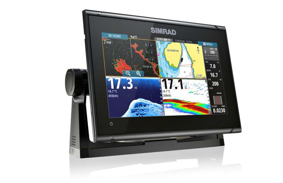 SIMRAD GO9 XSE, ROW TOTALSCAN